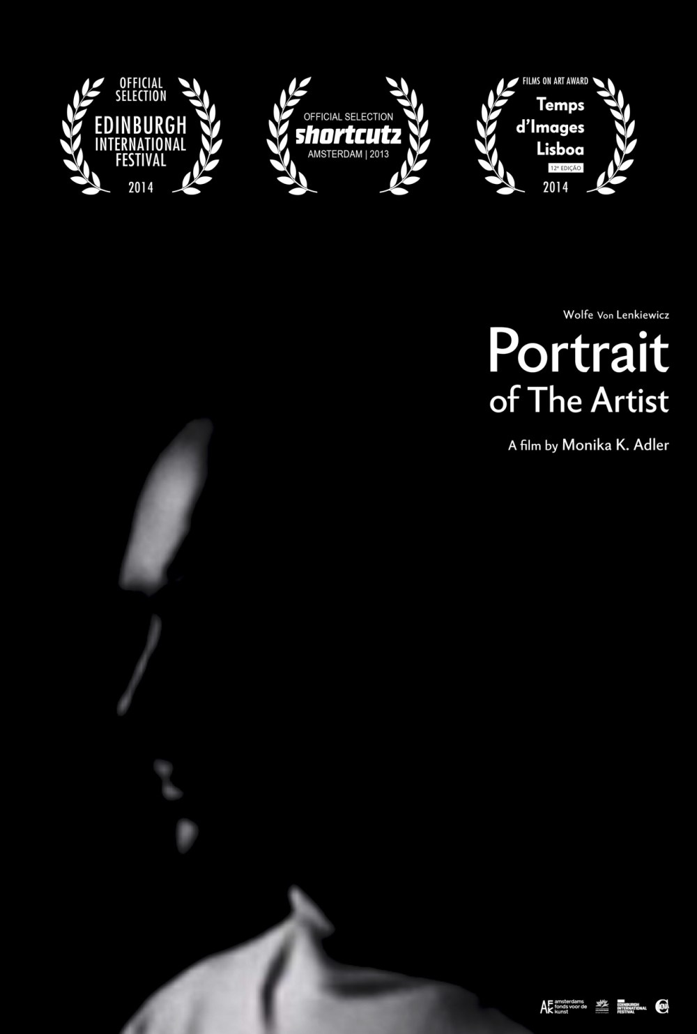 Monika K. Adler, Portrait of the artist, 2013, film poster, Aeon Rose