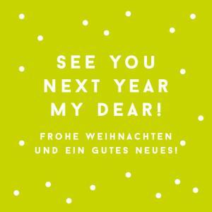 // Frohe Weihnachten und ein gutes Neues!