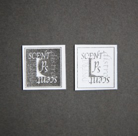 Scent distort stickers