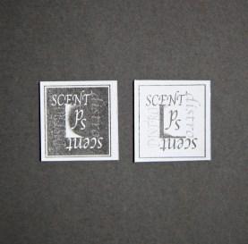 Scent distort stickers