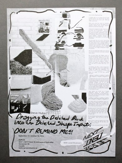 Poster by Steve Hubert