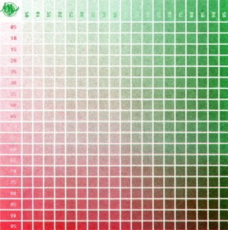 Risograph Red and Green