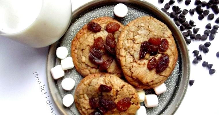 «Mi-noix, mi-choco» : Les Cookies crousti-moelleux Chocolate chunks et Noix glacées