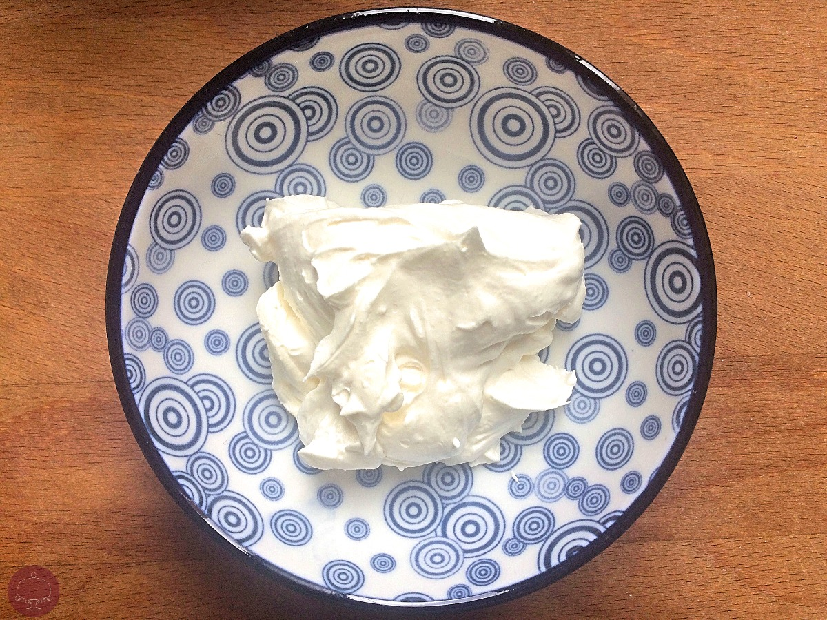 La Chantilly mascarpone