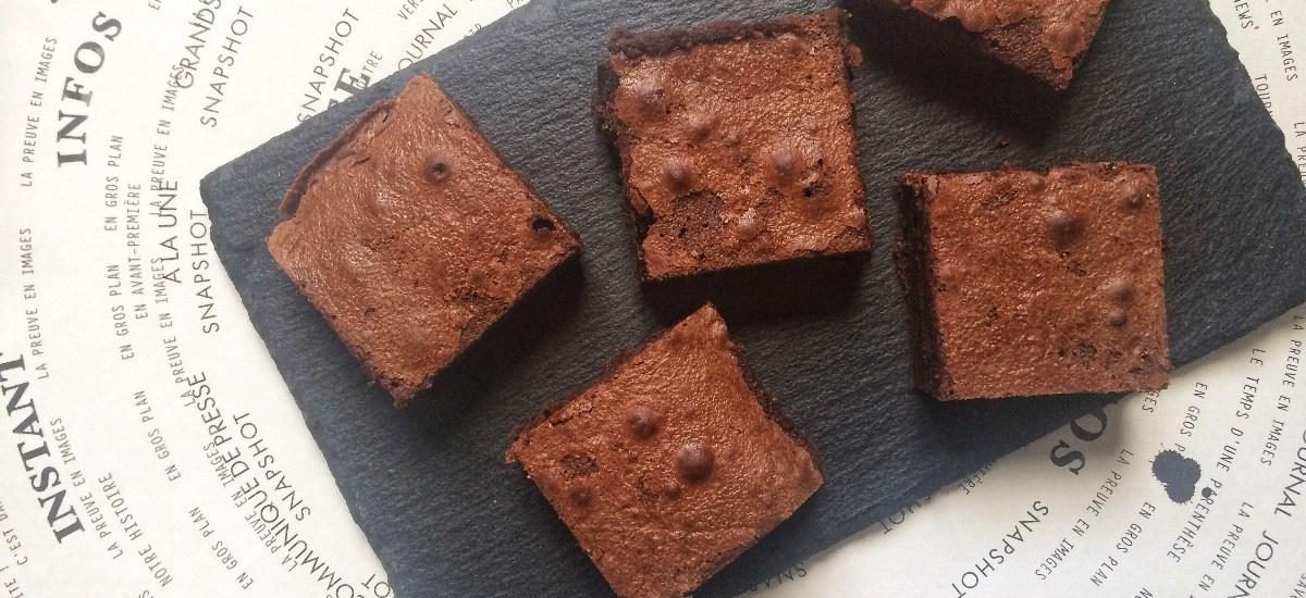 «THE brownie» : Le Brownie au chocolat