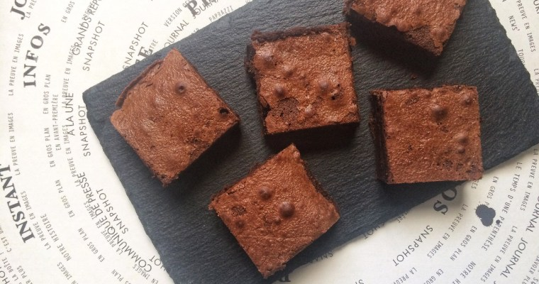 """THE brownie"" : Le Brownie au chocolat"