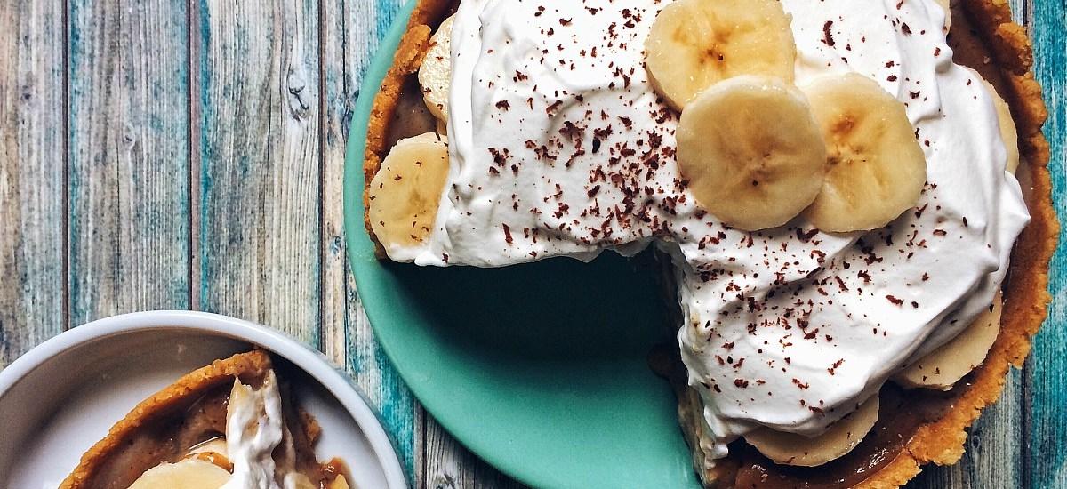 """""""Banane & Caramel"""" : La Banoffee pie, ou tarte à la banane et au toffee"""