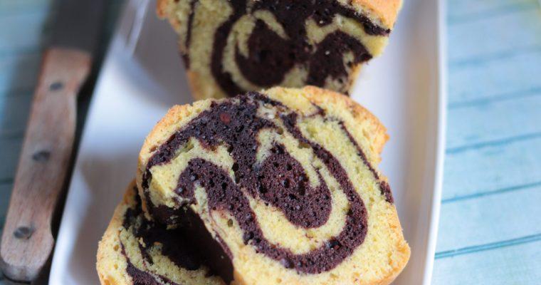 Le Cake marbré de l'école Valrhona