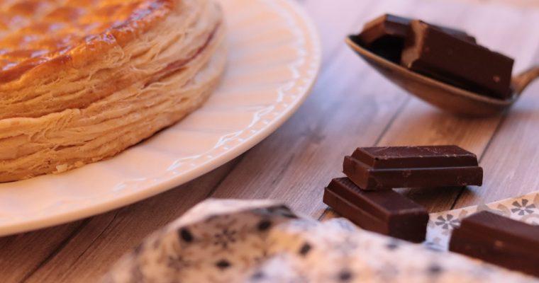 La Galette des Rois à la frangipane Chocolat et Poire
