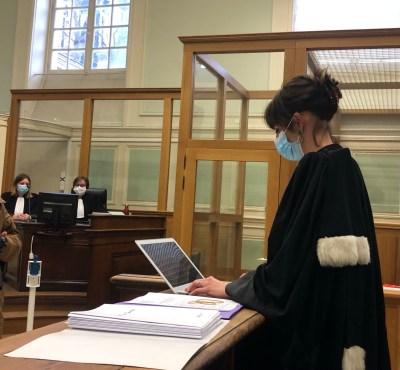 Pauline Manesse, avocate partie civile procès Conté