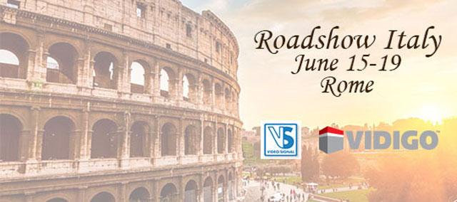 Open House Vidigo Video Signal a Roma il 15-19 giugno 2015