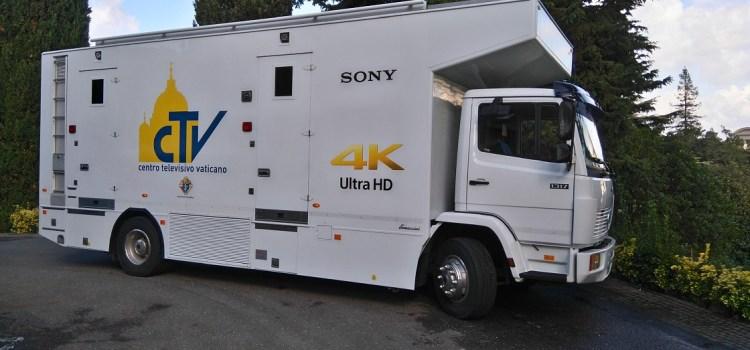 L'apertura della Porta Santa per il giubileo straordinario sarà ripresa con tecnologia Sony 4K Ultra HD e HDR