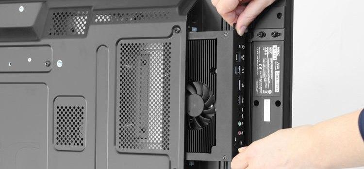 NEC semplifica il digital signage con la nuova generazione di Slot-In PCs
