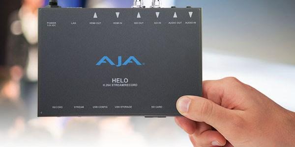 Da AJA è arrivato HELO, streaming e registrazione H.264
