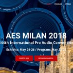 AES e il principale evento europeo audio dell'anno