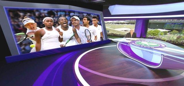 RT Software, AR per BBC Sport a Wimbledon.