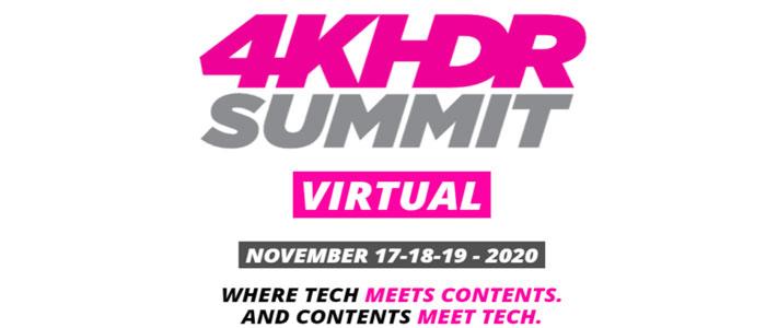 4K-HDR Summit – Virtual