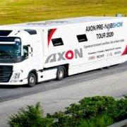 L'OB van Axon porta le tecnologie in tour per l'Europa, in Italia il 16 marzo