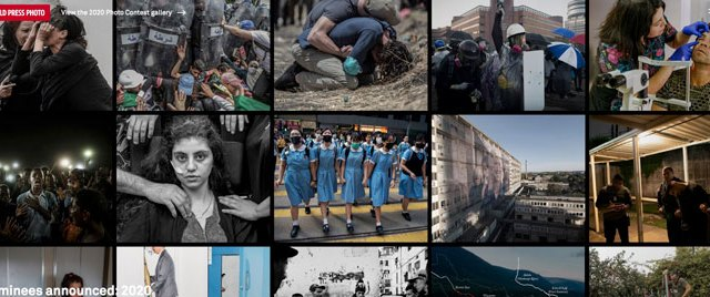 I finalisti del World Press Photo 2020