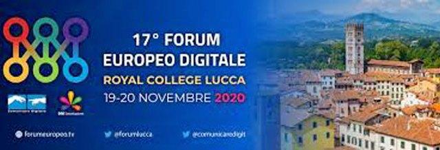 Sarà online l'annuale Forum Europeo Tv di Lucca del 19 e 20 novembre