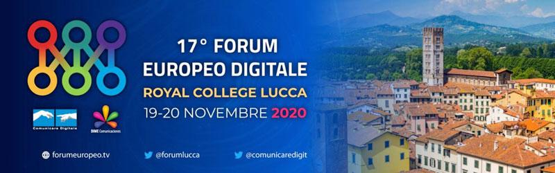 Forum Europeo Tv 2020 rimandato a novembre