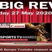 SVG Europe Sports TV Awards, premiazione il 27 maggio 2020