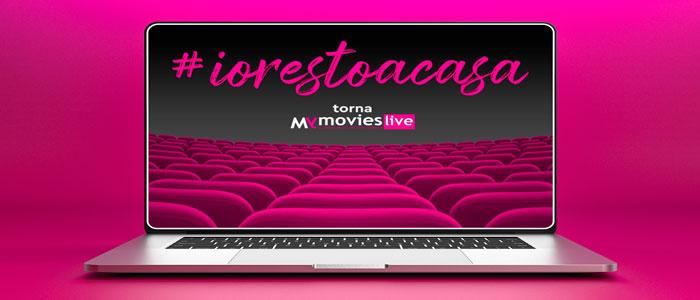 Le sale cinematografiche virtuali di #iorestoinsala