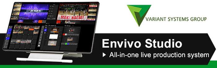 FOR-A: Envivo Studio, la soluzione ideale per riprese dal vivo, sportive e non
