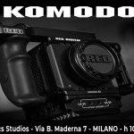 La nuova RED camera Komodo arriva in Panatronics il 20-21 ottobre