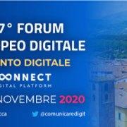 E' iniziato il FED 2020 – Forum Europeo Digitale