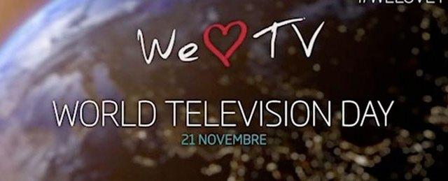 21 novembre, è il World Tv Day