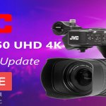 Nuovi aggiornamenti per la videocamera palmare 4K di JVC