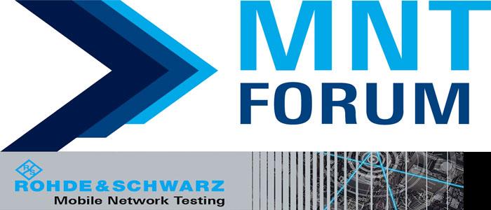 Rohde & Schwarz:  MNT Forum 2021