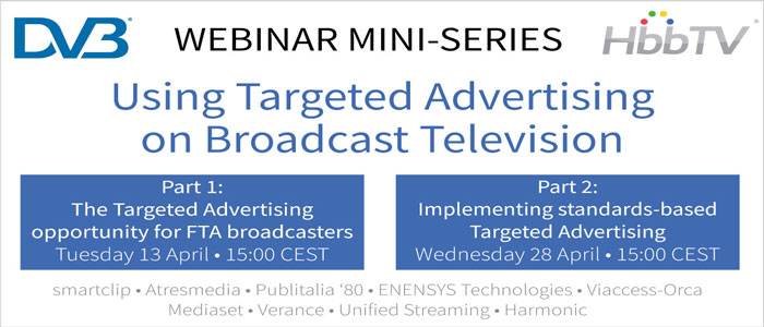 DVB: Using Targeted Advertising on Broadcast Television (Part 1)