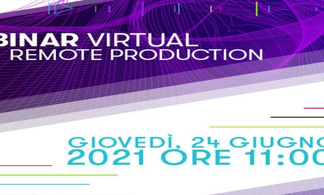 24 giugno: Webinar Virtuale di Avid sulla Produzione Remota