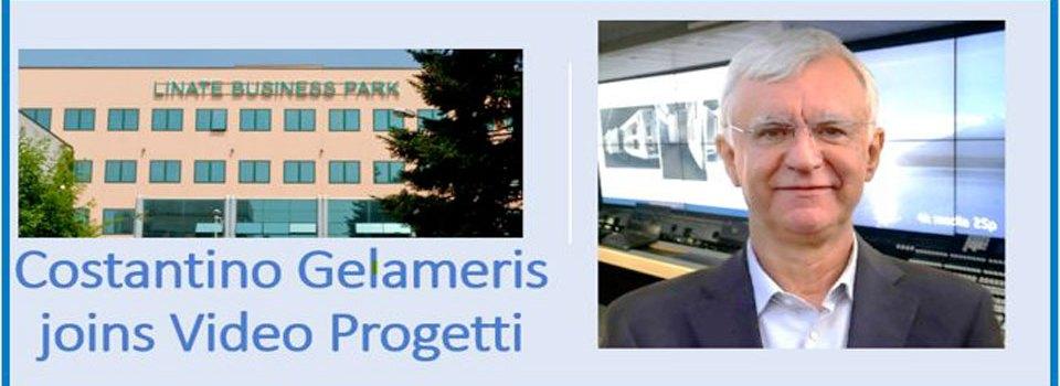 Costantino Gelameris entra nel team di Video Progetti
