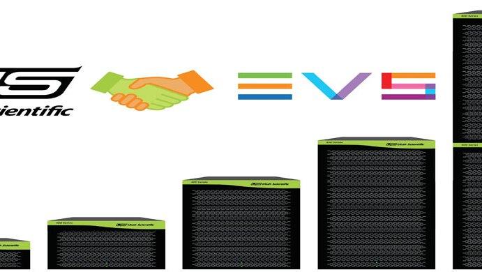 Utah Scientific con EVS il controllo e routing delle emittenti che lavorano in SDI nativo