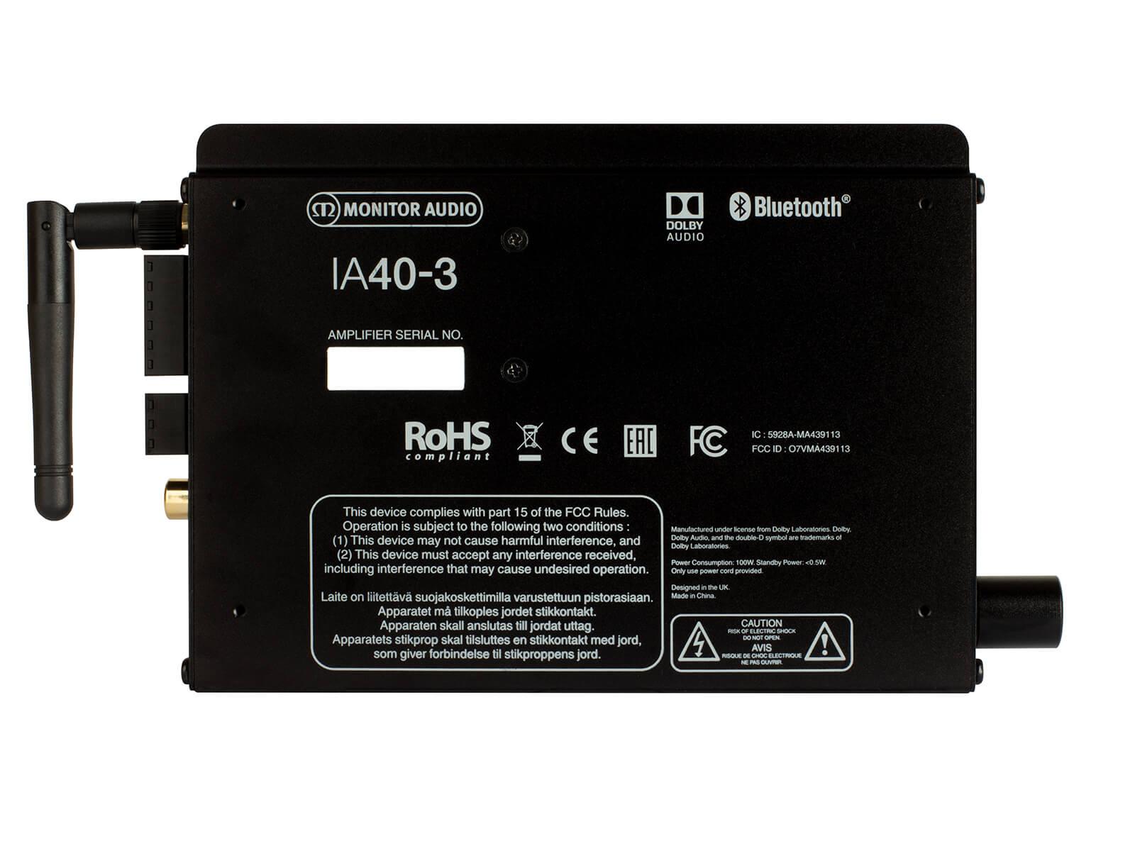 ia40 3 einbauverstarker monitor audio