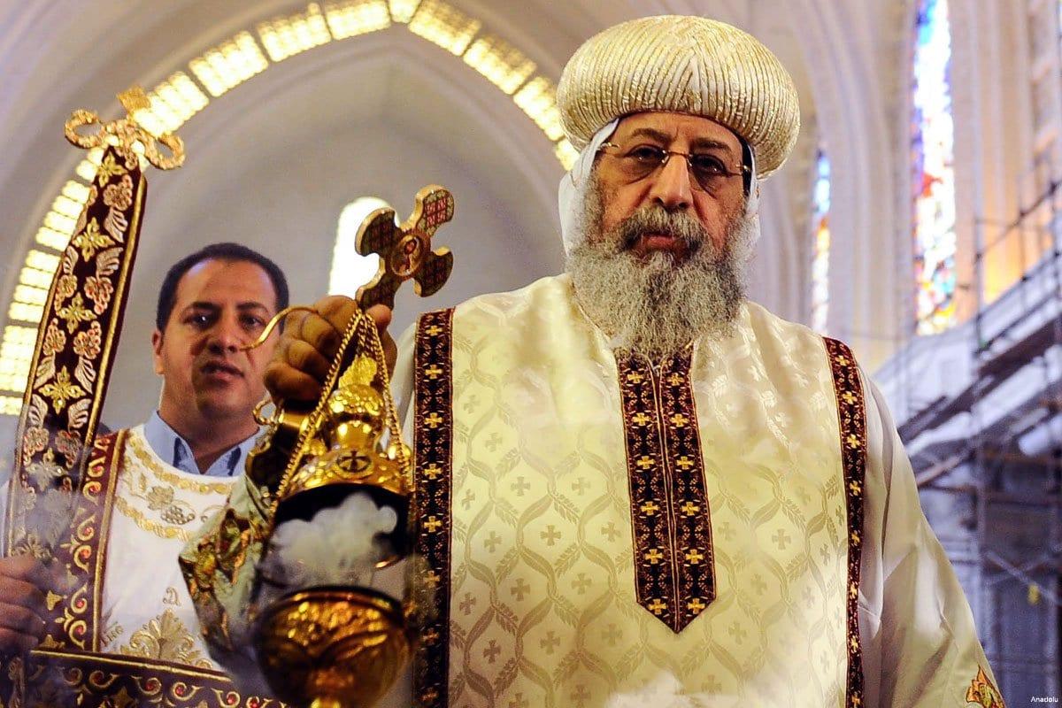 Es la primera vez que un rey saudí se reunirá con el papa de la iglesia egipcia