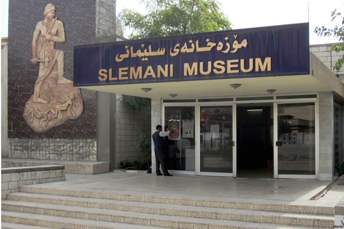 El Museo Slemani, en el Kurdistán iraquí.