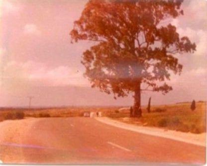 Vista de la carretera principal.