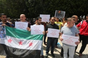 Gazans-Organise-Protest-For-Syrians-in-Aleppo-May-2-2016-003