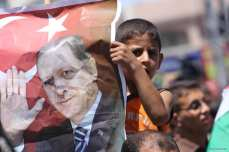20160716-Gazans-Rally-Against-Coup-Attempt-In-Turkey001