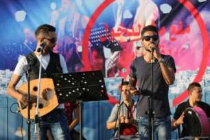 20160807_Palestinian-Music-Band-Performs-At-Erez-Crossing-009