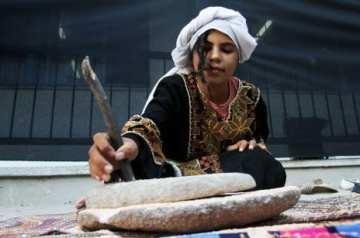 KHAN YOUNIS, Franja de Gaza: Los niños participan en el festival de conservación del patrimonio de UNRWA