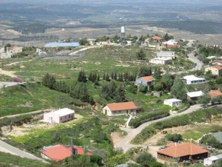 Asentamiento ilegal israelí de Bat Ayin, en Cisjordania / Fuente: Tora Live