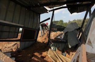 Israeli-airstrikes-hits-Gaza-Beit-Lahia-03