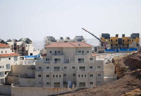 JERUSALÉN - 29 DE DICIEMBRE: Asentamientos israelíes en tierras palestinas en Jerusalén, el 29 de diciembre de 2016. (Daniel Bar On - Agencia Anadolu)