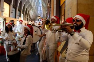 BEIRUT, LÍBANO- Preparación de Navidad y Año Nuevo, estilo libanés