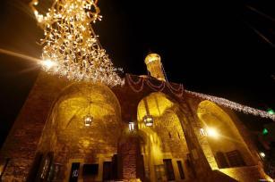 BEIURUT, LÍBANO: Alumbrados para el mes de ramadán